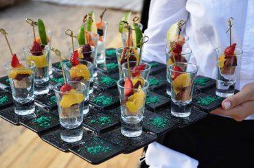 Гармошка на выезде организовала гастрономический вечер на свадебном торжестве