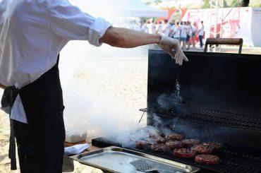 Команда Гармошки организовала BBQ-бар на корпоративном празднике «АВС-электро»